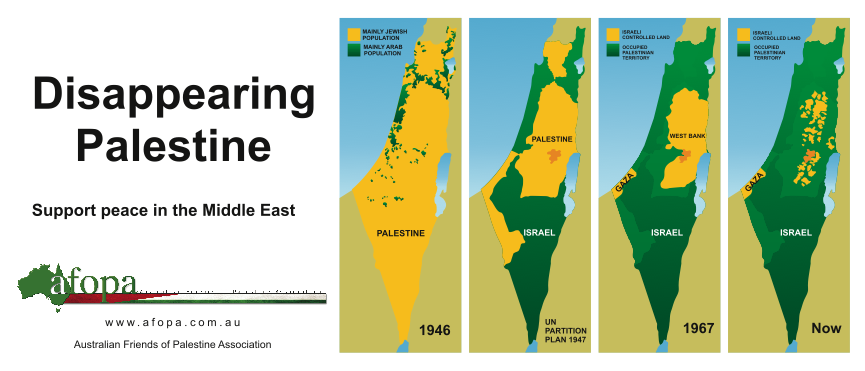 Why there are so many Palestinian refugees.